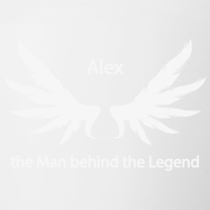 Alex the Man behind the Legend - Contrasting Mug