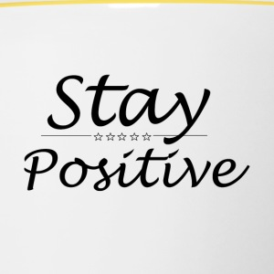 Stay positive - Tazze bicolor