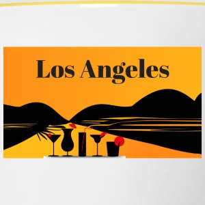 Los Angeles - Mok tweekleurig