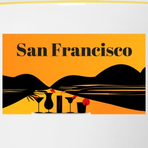 San Francisco - Mok tweekleurig