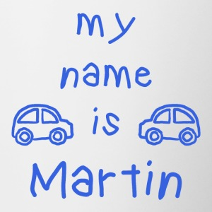 MARTIN MY NAME IS - Contrasting Mug