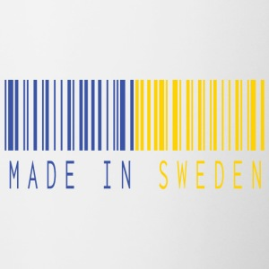 MADE IN SWEDEN BARCODE - Contrasting Mug