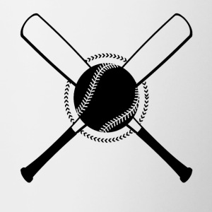 Baseball Crossed - Tasse bicolore