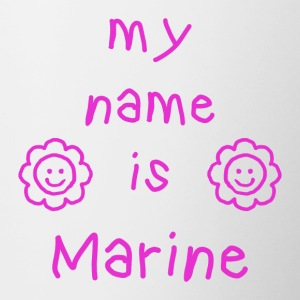 MY NAME IS MARINE - Tofarget kopp