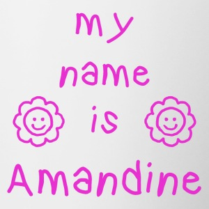 Amandine MY NAME IS - Tofarget kopp