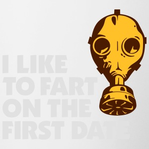 I Like To Fart On The First Date. - Contrasting Mug