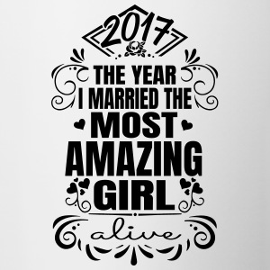Wedding 2017 - Best woman - Contrasting Mug