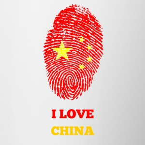I LOVE CHINA - Tasse zweifarbig