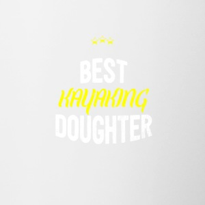 Distressed - BEST KAYAKING DAUGHTER - Contrasting Mug