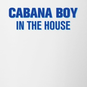 Cabana Boy in the House - Contrasting Mug