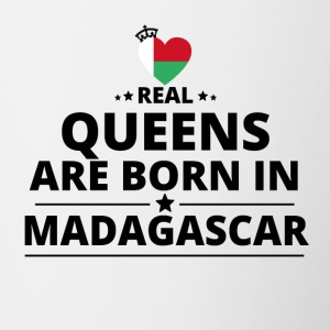 GIFT QUEENS LOVE FROM MADAGASCAR - Contrasting Mug