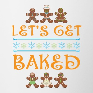 Let's Get Baked Shirt Christmas Ugly Sweater - Contrasting Mug