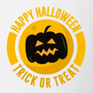 Happy Halloween - Trick or Treat - Kostym - Tvåfärgad mugg