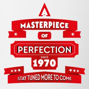 Masterpiece 1970. Perfect since 1970 - Contrasting Mug