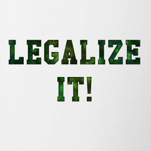 Legalize It - Contrasting Mug