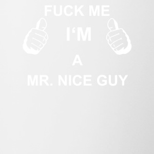 TRUST FUCK ME IN MR NICE GUY - Contrasting Mug