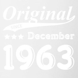 Original Sinds december 1963 Gift - Mok tweekleurig