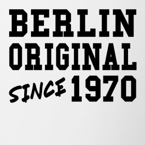 Original Berlin 1970 Shirt Fun Drôle Cool cadeau - Tasse bicolore