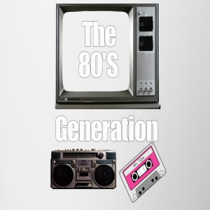 the 80's - Mok tweekleurig