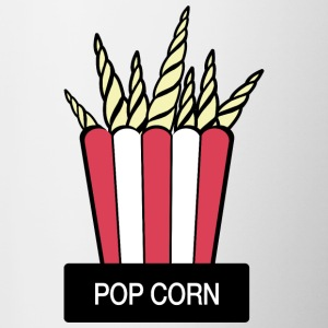 POP CORN - Tasse bicolore
