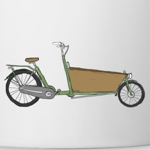 The Bakfiets (without text) - Contrasting Mug