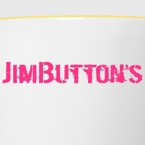 JimButton s girly pinky - Tvåfärgad mugg
