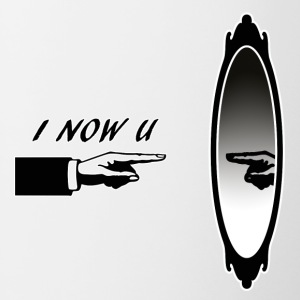 I_NOW_YOU - Taza en dos colores