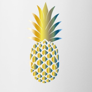 ananas Colorful - Tasse bicolore