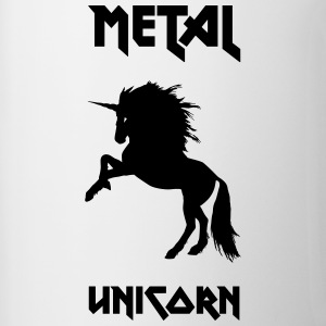 Metal Unicorn - Tofarvet krus