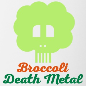 Broccoli death metal 10 - Contrasting Mug