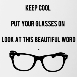 Keep Cool Glasses - Tasse zweifarbig