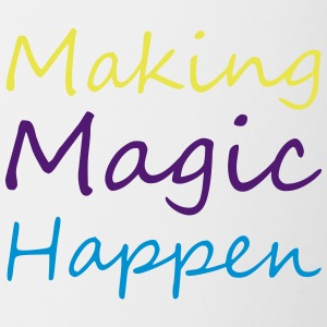 Making magic happen - Contrasting Mug