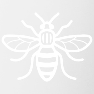Manchester Bee (White) - Contrasting Mug