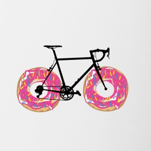 Donutbicycle - Tasse bicolore