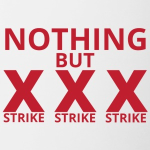 Bowling / Bowler: Nothing But Strike, Strike, Stri - Tofarvet krus