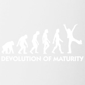 The Evolution Of Maturity - Contrasting Mug