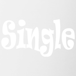 Single White - Mok tweekleurig