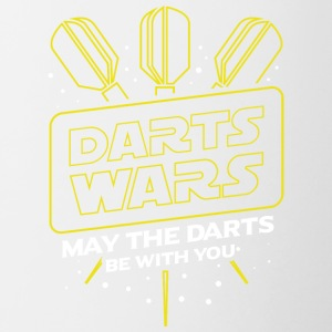 DARTS WARS - MAY THE DARTS BE WITH YOU - Contrasting Mug