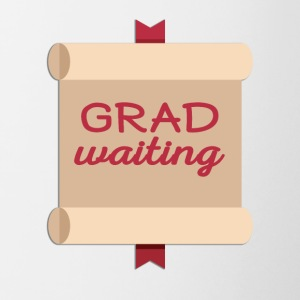 High School / Onderwijs: Degree Waiting - Mok tweekleurig