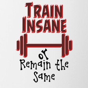 Train Insane - Contrasting Mug