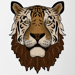 Bearded tiger - Contrasting Mug