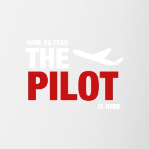 Have No Fear, The Pilot Is Here - Contrasting Mug