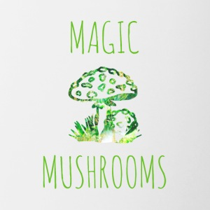 Magic mushrooms Magic Mushrooms Toadstool - Tofarget kopp