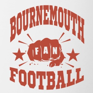 Bournemouth Football Fan - Tasse bicolore
