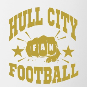 Hull City Fan - Tasse bicolore