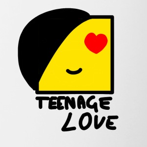 Emo Boy: Teenage Love - Tvåfärgad mugg