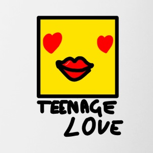 Self Picture Girl: Teenage Love - Tasse bicolore