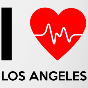 I Love Los Angeles - Jeg elsker Los Angeles - Tofarget kopp