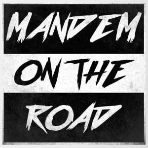 mandem_on_the_road0000 - Tasse zweifarbig
