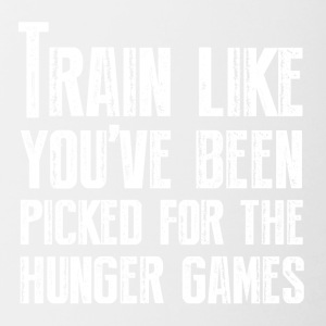 Train for the Hunger Games - Contrasting Mug